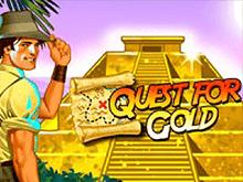 Quest For Gold - игровой автомат от Novomatic